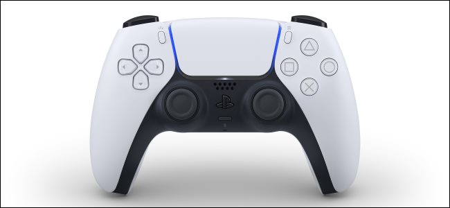 The new DualSense wireless controller for the Sony PlayStation 5.