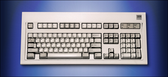 The IBM Model M Keyboard - IBM 101-Key Enhanced Keyboard